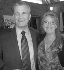 Photo of Scott Storey, Newest Board Member and Kathy Kinnard, VOI Board Member for 20 years